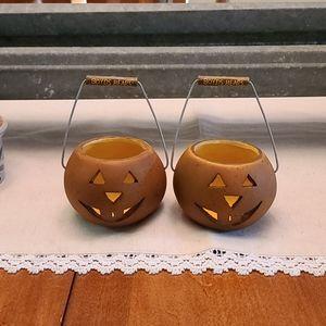 Boyd's Bears Halloween candle holder